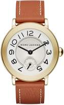 Marc Jacobs Women's Riley Leather Watch, 36mm