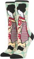 Rihanna X Stance Geisha Tomboy Cotton Blend Socks