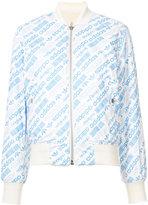 adidas reversible bomber jacket - women - Polyester - XXS