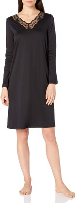 Hanro Women's Valencia Long Sleeve Gown