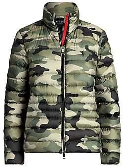 Polo Ralph Lauren Women's Camo Down Puffer Jacket