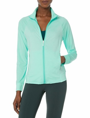 Cutter & Buck Women's Moisture Wicking UPF 50+ Long-Sleeve Lena Full Zip Jacket