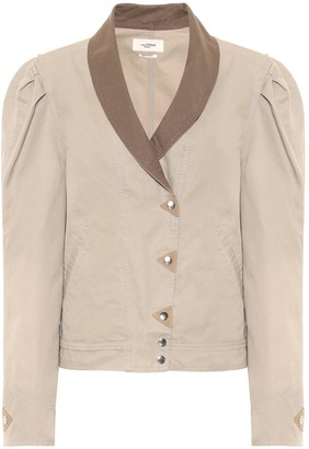 Etoile Isabel Marant Priest cotton-canvas jacket