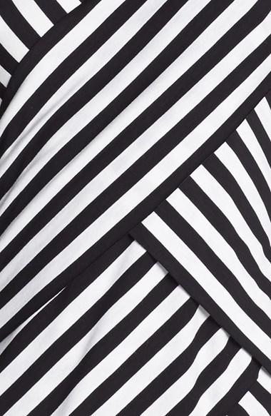 Vince Camuto Tiered Stripe Top (Regular & Petite)