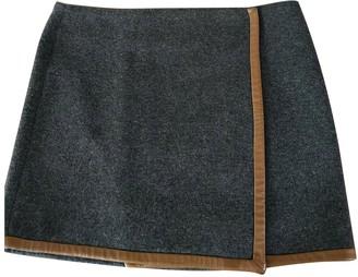 Maje Grey Skirt for Women