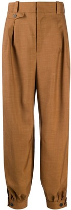 Loewe Tapered-Leg Wool Trousers