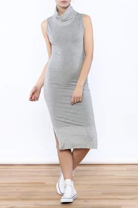 Tov Cowl Turtleneck Dress