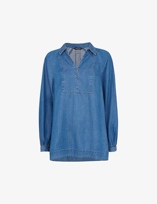 Whistles Relaxed-fit woven shirt