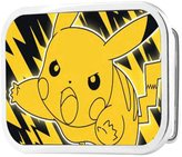 Buckle Down Pokemon Animated TV Series Pikachu Outline Rockstar Belt Buckle