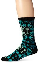 HUF Men's Plantlife Kaleide Crew Sock