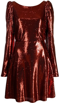Black Coral Camila Trilly sequined dress
