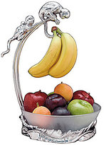 Arthur Court Safari Monkey Banana Holder with Fruit Bowl