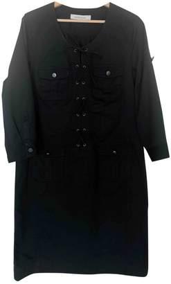 Gerard Darel Black Cotton Dress for Women