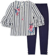 Knitworks Knit Works Ruffle Sleeve Top Legging Set - Girls' 4-16 & Plus