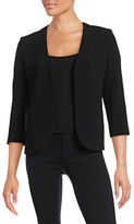 Theory Slim-Fit V-Neck Blazer
