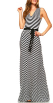 Le Shop Striped Maxi Dress