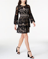 Kensie Tiered Lace Dress