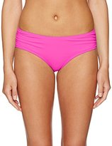 CoCo Reef Women's Classic Solids Side Shirred Bikini Bottom