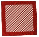 Tom Ford Houndstooth Silk Pocket Square