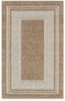 Bed Bath & Beyond Double Border 1-Foot 8-Inch x 2-Foot 10-Inch Accent Rug in Toast