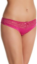 Parfait Lace Trim Thong (Plus Size)