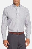 Cutter & Buck Men's Big & Tall 'Epic Easy Care' Classic Fit Bengal Stripe Sport Shirt