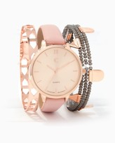 Charming charlie Just Bead It Watch & Bracelet Set