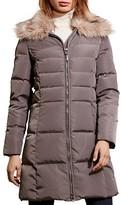 Lauren Ralph Lauren Faux Fur-Trim Quilted Puffer Coat