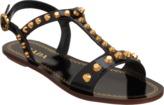 Prada Studded T-Strap Sandal Sale up to 60% off at Barneyswarehouse.com
