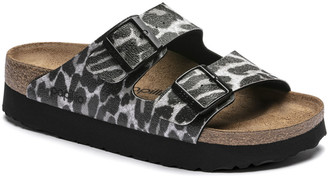 Birkenstock Arizona Platform Bf Leo Black - 39 (UK 6)