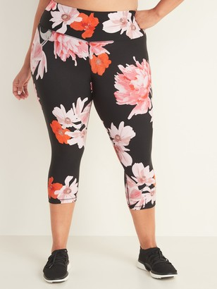 Old Navy High-Waisted Elevate Plus-Size Cropped Leggings