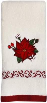 St Nicholas Square Poinsettia Fingertip Towel