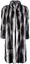 Christian Dior chinchilla fur coat