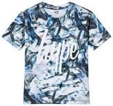 Hype Navy Script Print Branded T-Shirt