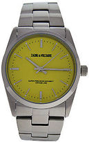 Zadig & Voltaire ZVF225 Yellow Dial/Silver Stainless Steel Bracelet Watch 1 Pc