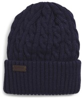 Barbour Balfron Cable Knit Beanie - Blue
