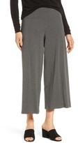 Eileen Fisher Women's Wide Leg Crop Pants