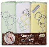 Bed Bath & Beyond Frenchie Mini Couture Teddy Bear Neutral Hooded Towels (3-Pack)