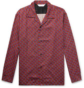 SASQUATCHfabrix. Camp-Collar Printed Lyocell-Twill Shirt