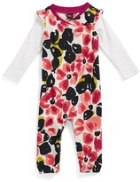 Tea Collection 'Water Blossom' Romper (Baby Girls)