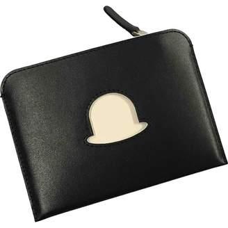 Delvaux Black Leather Purses, wallets & cases