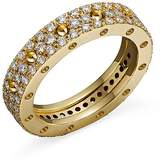 Roberto Coin 18K Yellow Gold Pois Moi Diamond Pavé Ring