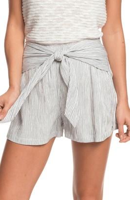Roxy Nevada Road Tie Waist Shorts