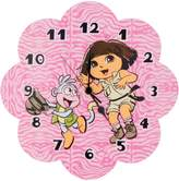 Trend Lab Trend-Lab 60009 WALL CLOCK - NICKEOLDEON DORA THE EXPLORER EXPLORING THE WILD