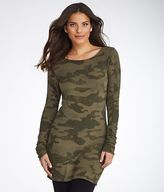 Hard Tail Camo Long Skinny Tee,, Activewear - Women's