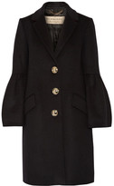 Burberry Wool And Cashmere-blend Coat - Black