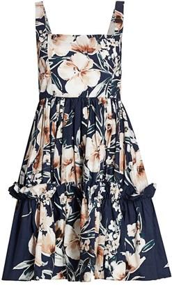 Cara Cara Sasha Floral Fit & Flare Dress