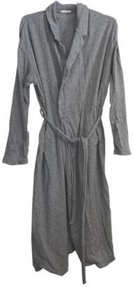 American Vintage Grey Cotton Coats