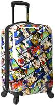 """Traveler's Choice Loudmouth Crak! 22"""" Expandable Carry-On Spinner Luggage"""