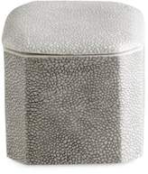Kassatex Shagreen Porcelain Cotton Jar